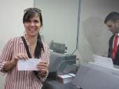 Equipo de Gobierno aporta un día de salario por la Revolución. 31 de octubre de 2013