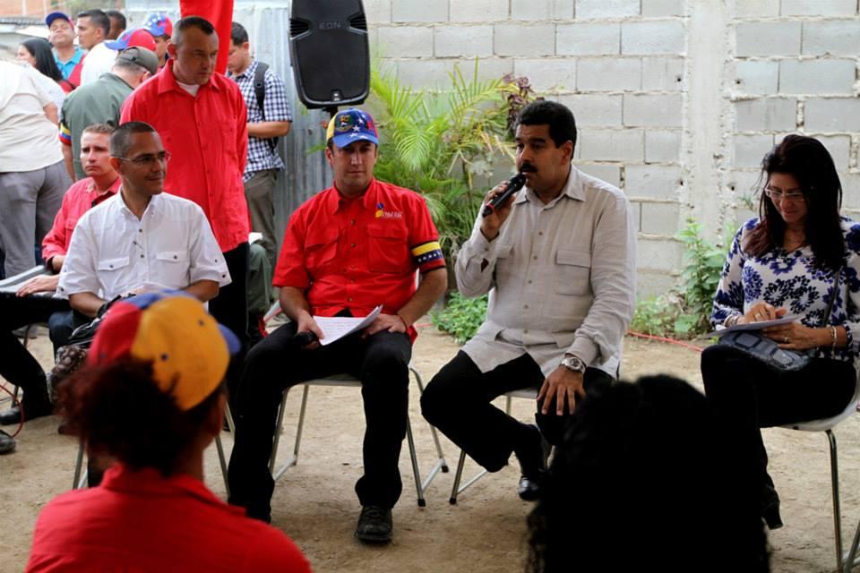 Visita a Fundo Coropo en el marco de Gobierno de Calle. 30 de mayo de 2013