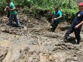 Visita a obras de dragado del rio Aragua. 1 de junio de 2013