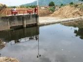 Visita al dique Caricari en el municipio Santiago Mariño. 20 de mayo de 2013.